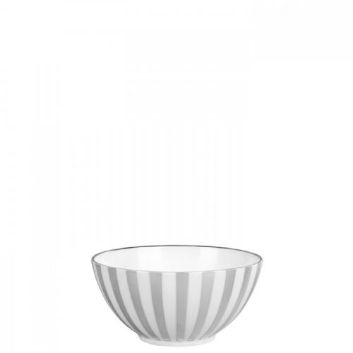 Jasper Conran Platinum Striped Mini Bowl 14cm